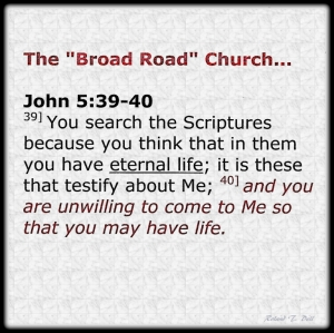 Broad Road Bible Use 001
