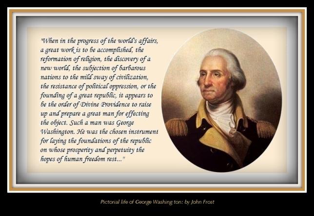 Washington raised up-caption